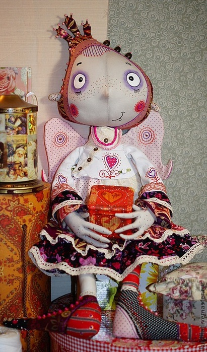 Текстильные куклы ярмарка мастеров мастер класс