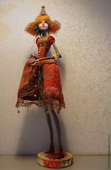 Longitudecore Авторская кукла, кукла ручной работы, мороженое,.