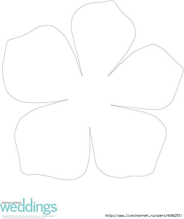 Как сделать трафарет цветы