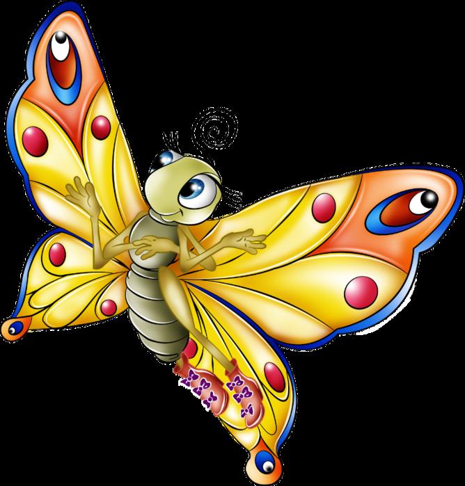 Бабочки Клипарт
