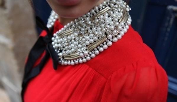 Красивый воротничок на платья своими руками - Самые лучшие кулончики только тут