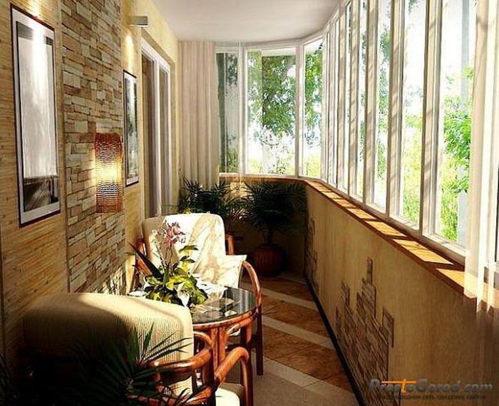 Современная отделка балконов фото 2