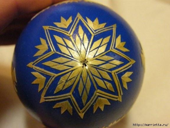 пасхальные яйца декор соломкой (5) (576x432, 113Kb)