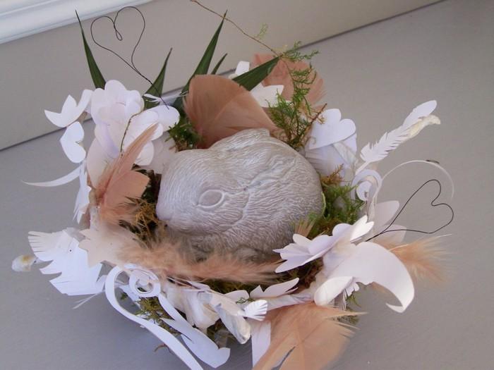 корзинка-гнездышко из бумаги для пасхальных яиц (3) (700x525, 77Kb)