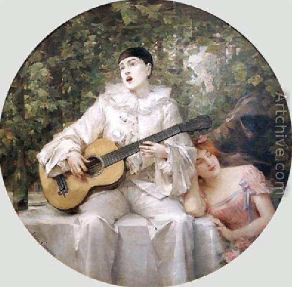12 The Serenade - Leon Francois Comerr (600x590, 57Kb)