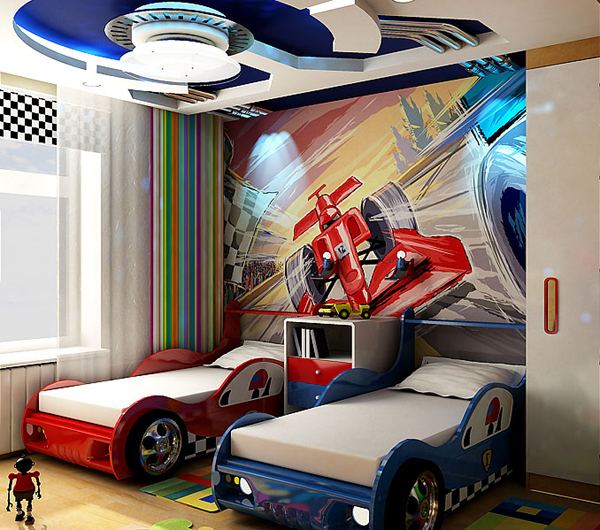 Дизайн детских комнат для мальчиков своими руками