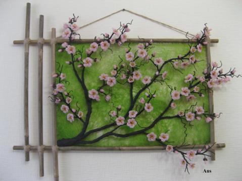 Как сделать ветки сакуры своими руками