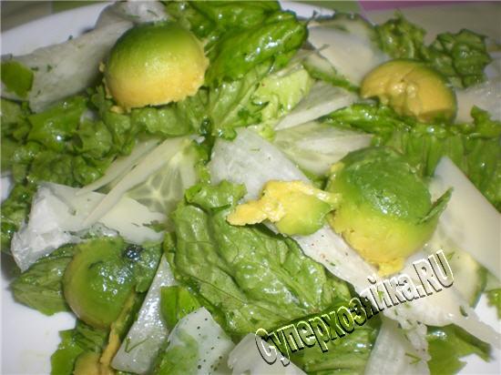 салаты с редиской и сыром рецепты