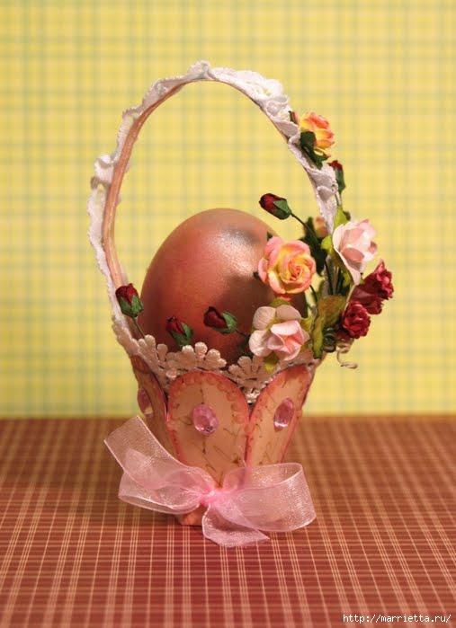 корзинки из бумаги для пасхальных яиц (9) (507x699, 146Kb)