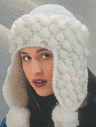 вязания шапочки чулочными