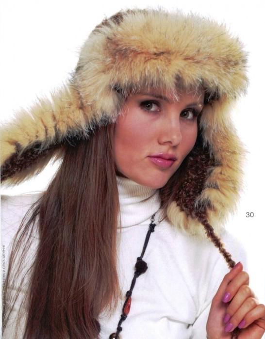 шапка из журнала мод (546x700,