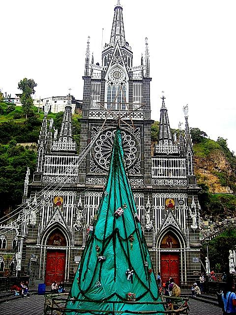 Кафедральный собор Лас-Лахас в Колумбии 32748