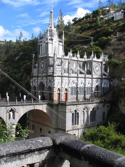 Кафедральный собор Лас-Лахас в Колумбии 92866