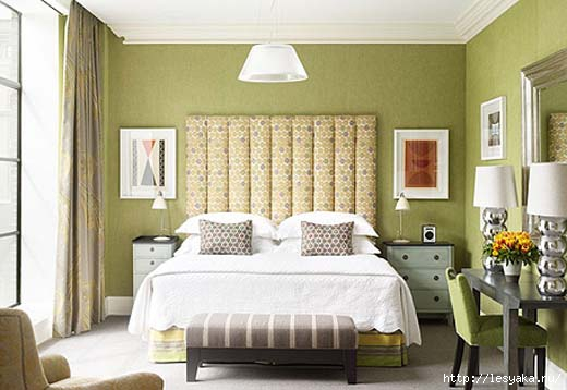 Green-Bedroom-By-Crosby-Street-Hotel- (520x358, 93Kb)