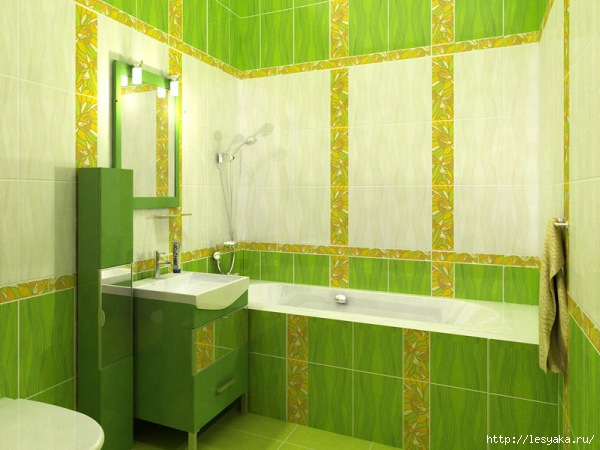 white-green-bathroom-simple (600x450, 152Kb)