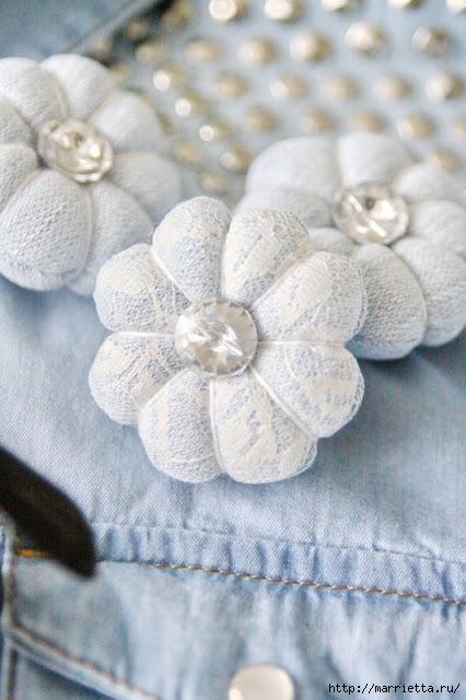 круглые цветы из ткани (46) (426x640, 175Kb)