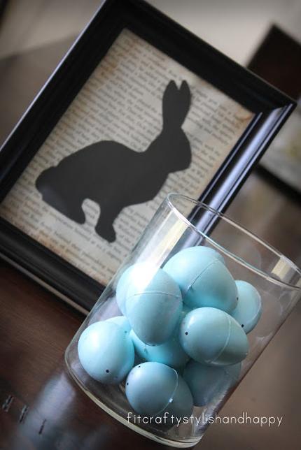 6.-Bunny-Silhouette-Framed-Art (430x644, 204Kb)
