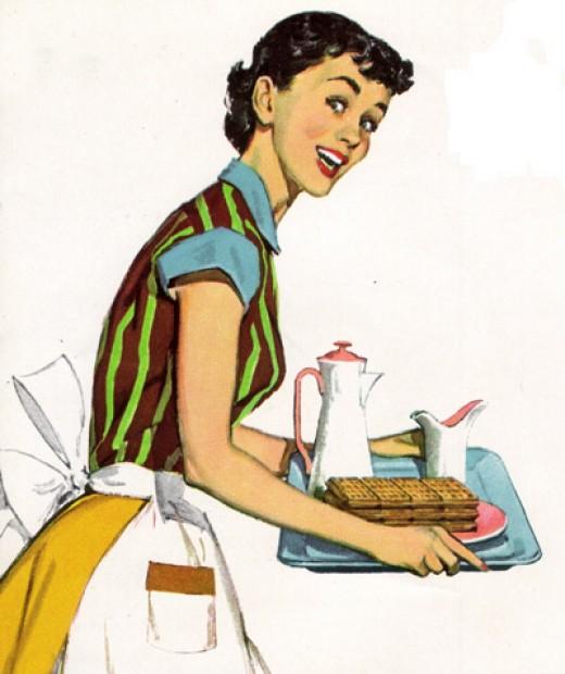 Идеальная жена в США, версия 1955 года