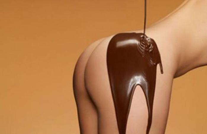 фото шоколадных жоп