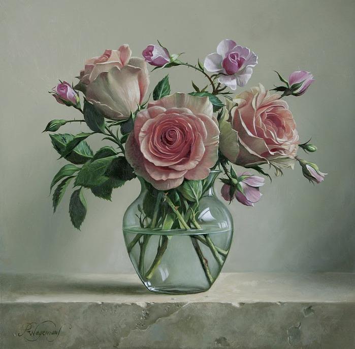 цветочные натюрморты Pieter Wagemans 3 (700x689, 112Kb)