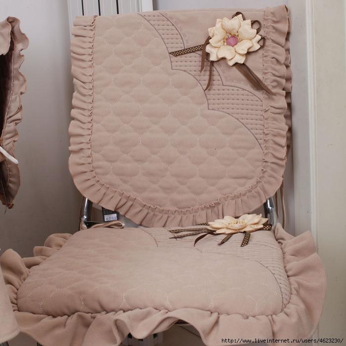 Чехлы для стульев выкройки