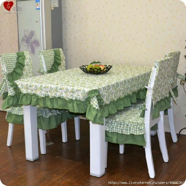 Красивые чехлы для стульев с завязками