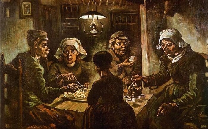 The Potato Eaters by Vincent van Gog…