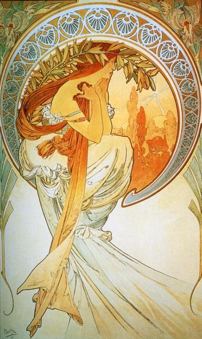 Поэзия, 1898 (404x677, 70Kb)