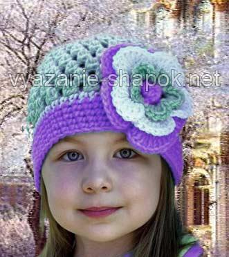 вязаные шапки со схемами и