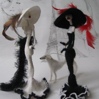 Куклы - Парижанки от Светланы