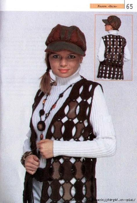 вязаная сумка крючком для девочки схема
