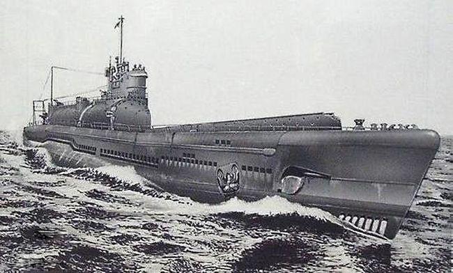 флота вошла лодка I-9.