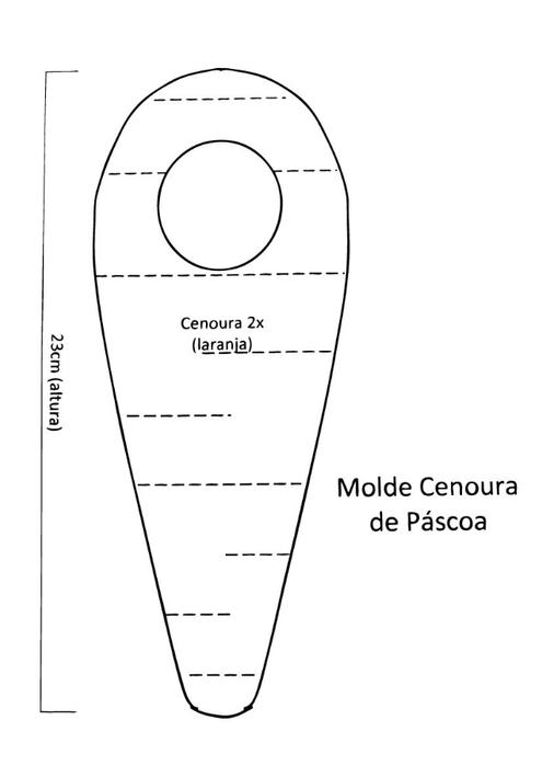 пасхальный зайка с морковкой из фетра (1) (495x700, 47Kb)