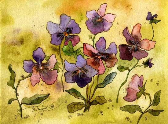 Анютины цветы (550x406, 43Kb)