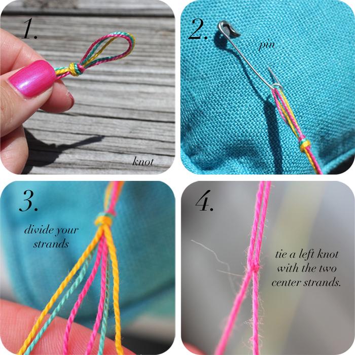 Красивые браслеты из ниток своими руками фото схемы 65