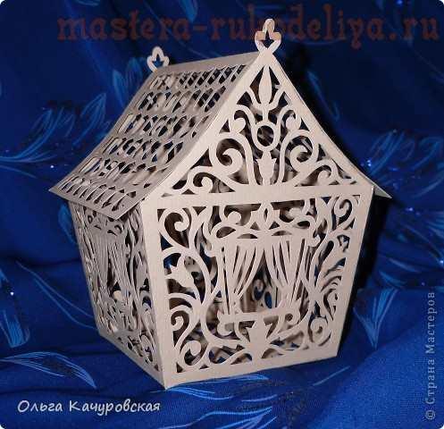 <мастер-класс киригами схемы