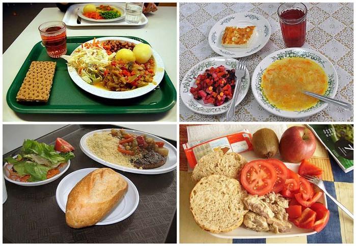Питание школьников в разных странах мира