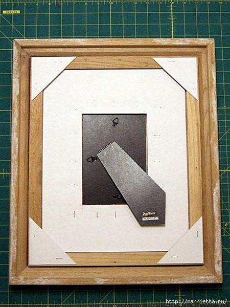 как сделать рамку для картины своими руками (10) (450x600, 187Kb)