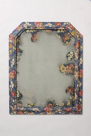 Цветочное зеркало. Шикарная идея по переделке и украшению интерьера (23) (290x435, 23Kb)