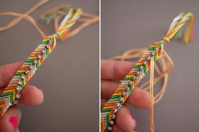 Какие браслеты можно сплести из ниток для вязания 37