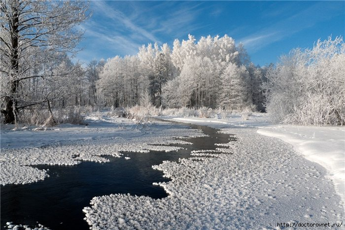 яркие краски мира зима уходит (700x467, 247Kb)