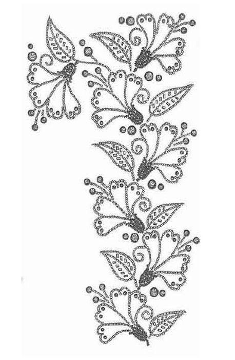 9 ч. назад Метки: бисер сутаж вышивка бисером для вдохновения украшения Ниже приведена схема для вышивки размером...