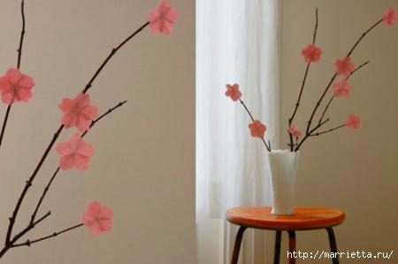 Декоративные веточки для украшения весеннего интерьера (20) (450x298, 64Kb)