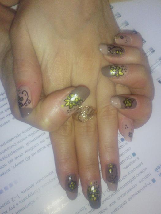 Фото нарощенных ногтей все виды