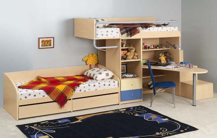 кровать-чердак двухярусная кровать (1) (700x445, 70Kb)
