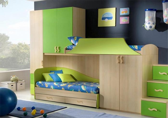 кровать-чердак двухярусная кровать (2) (700x494, 228Kb)