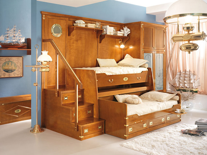 кровать-чердак двухярусная кровать (6) (700x525, 140Kb)