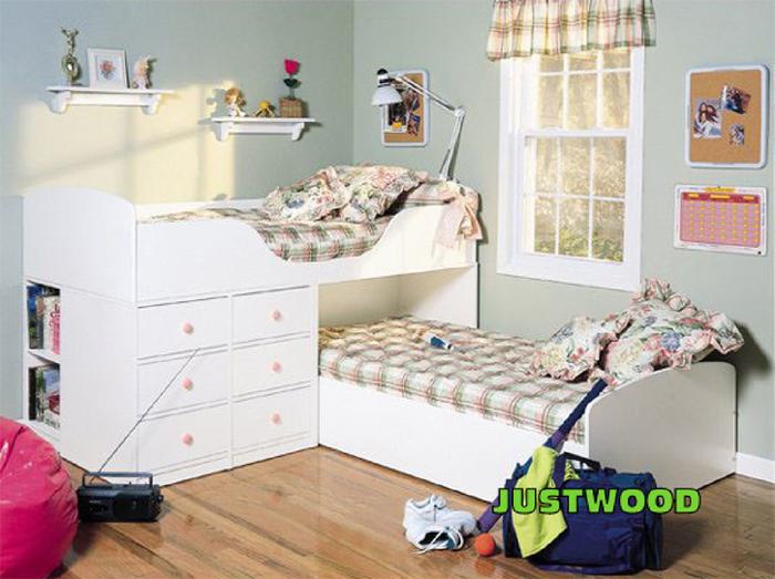 кровать-чердак двухярусная кровать (17) (700x523, 275Kb)