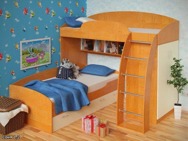 кровать-чердак двухярусная кровать (34) (640x480, 80Kb)