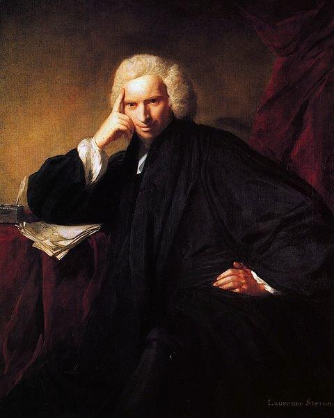 Портрет писателя Стерна (480x600, 77Kb)